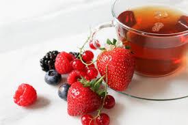دمنوش ریز میوه های قرمز