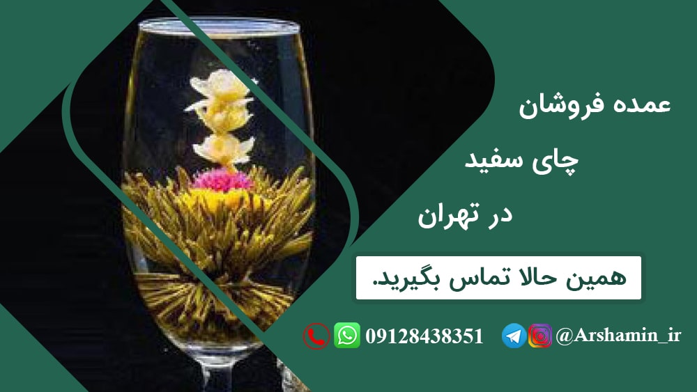 عمده فروشان چای سفید در تهران