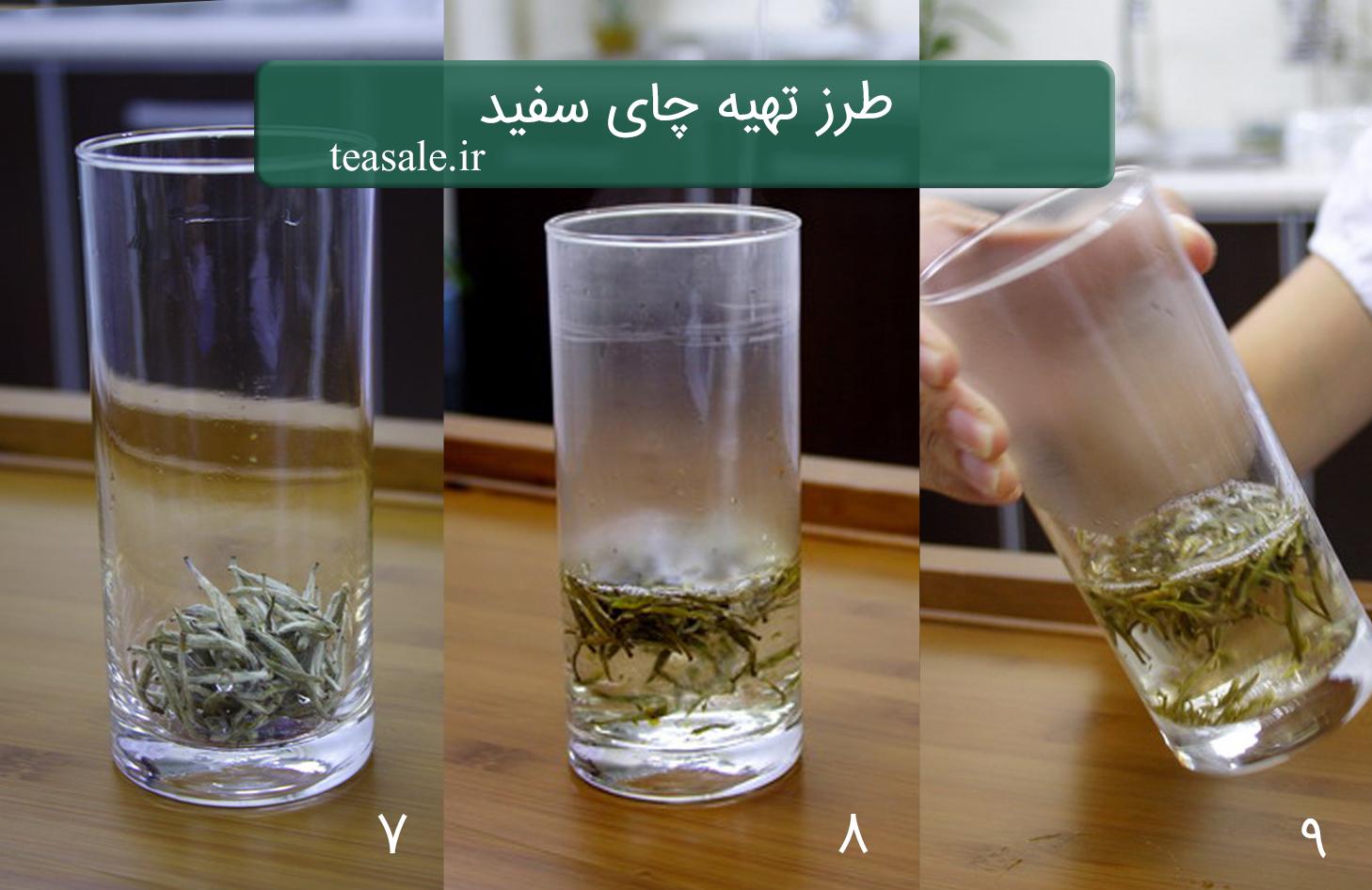 طرز تهیه چای سفید