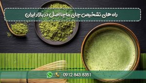 راه های تشخیص چای ماچا اصل در بازار ایران-min